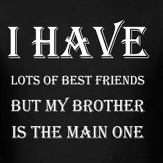 Brother To Brother Quotes