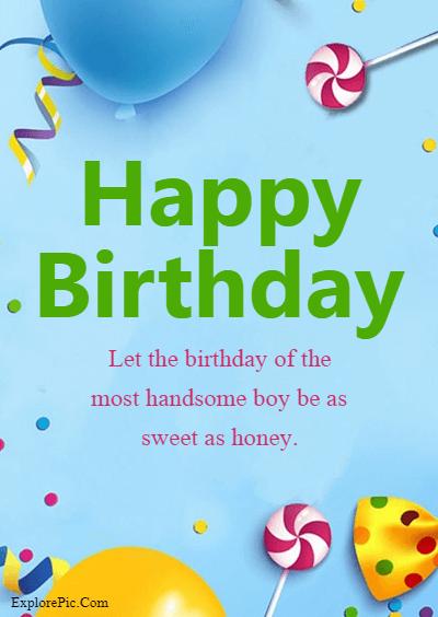 60 Birthday Wishes for Boys – Happy Birthday Boys (2)