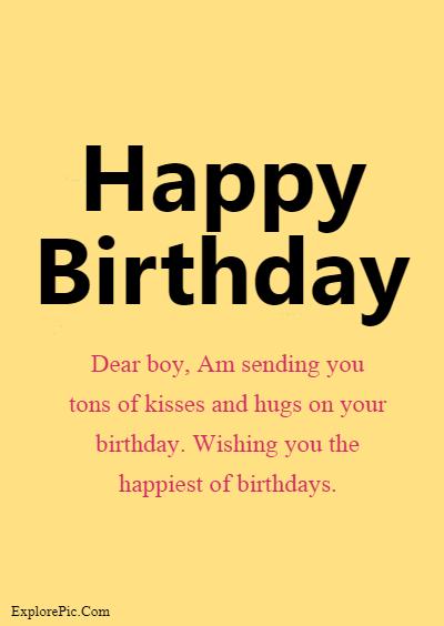 60 Birthday Wishes for Boys – Happy Birthday Boys (5)