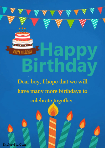 60 Birthday Wishes for Boys – Happy Birthday Boys (7)