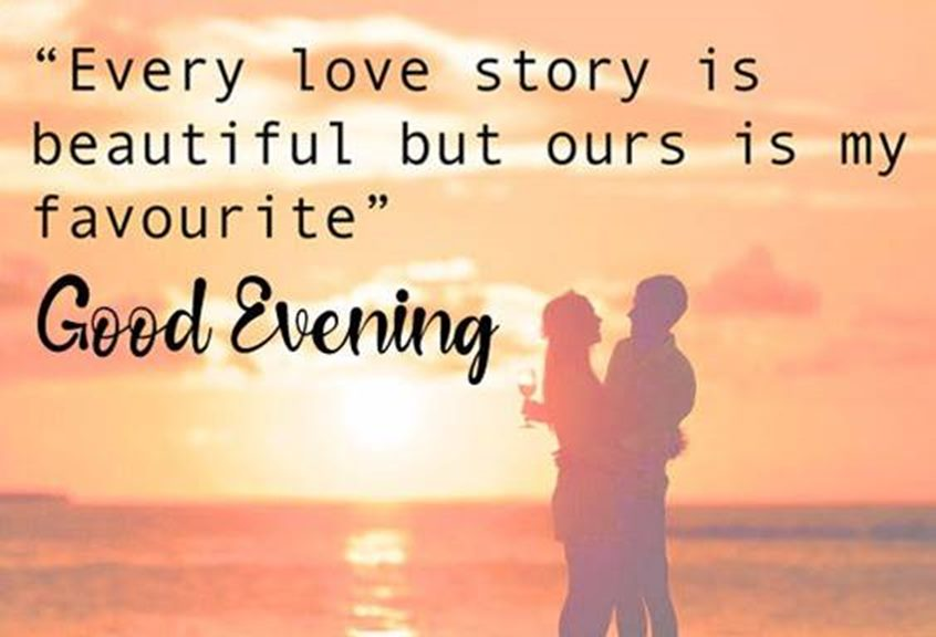 good evening images with quotes