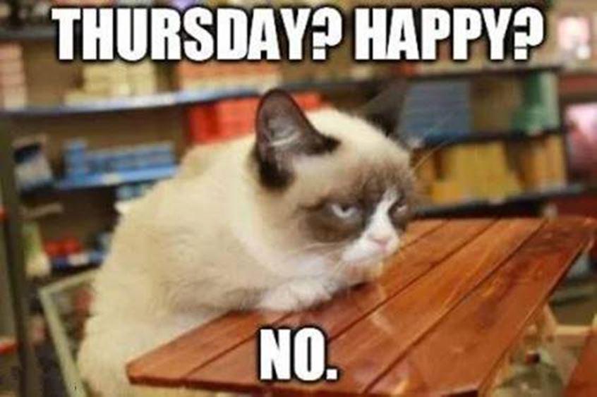 joyfully funny thursday memes for dump a day