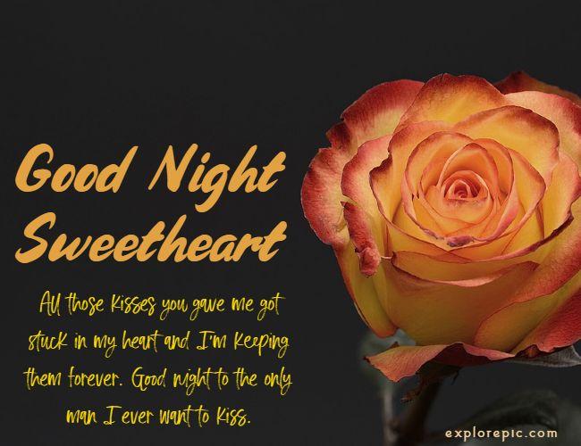 good night messages for boyfriend 1