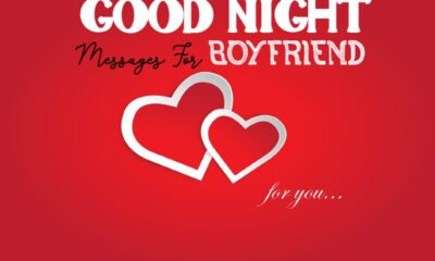 good night messages for boyfriend with images