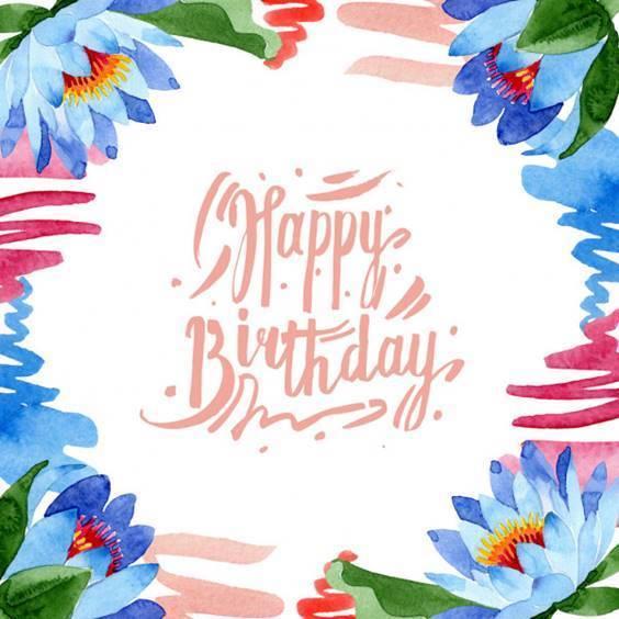 happy birthday lilies