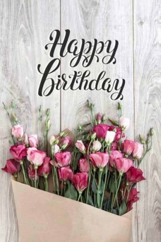 happy birthday lily flowers
