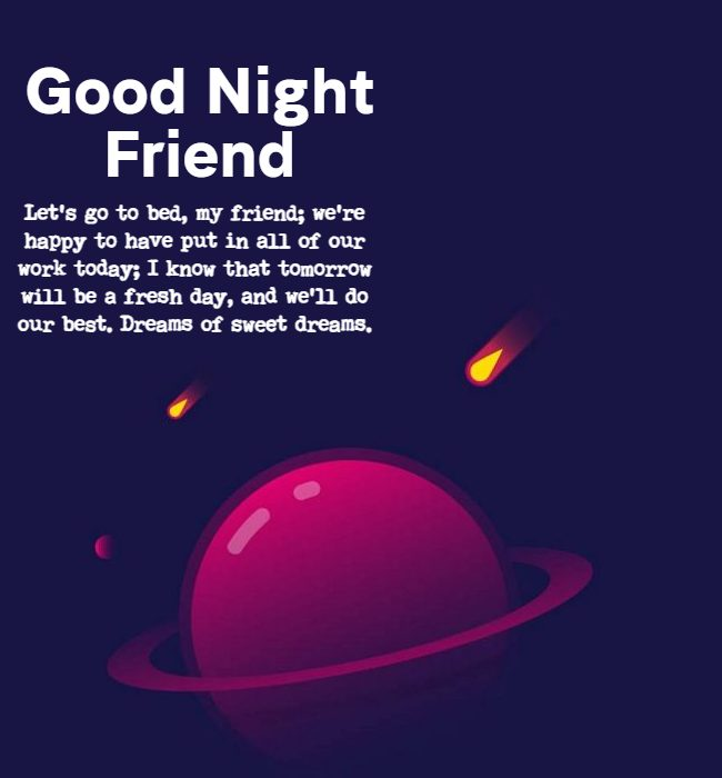 best good night quotes for best friend