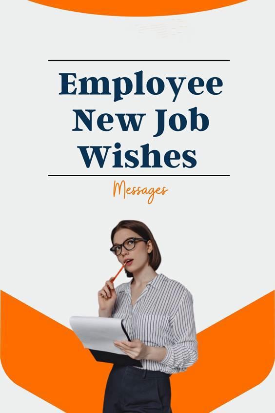 congratulations on new job