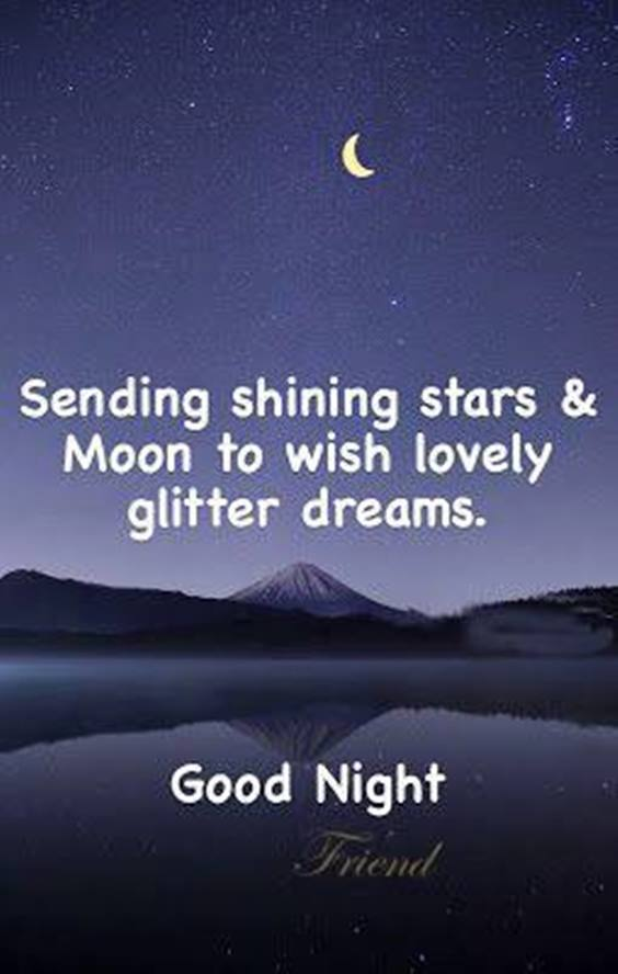 good night quotes for fb friends