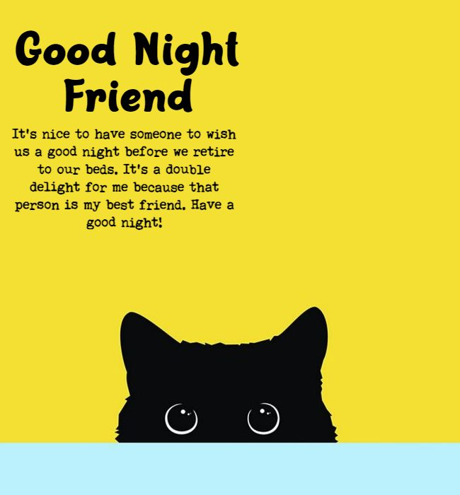 good night wishes to friends quotes