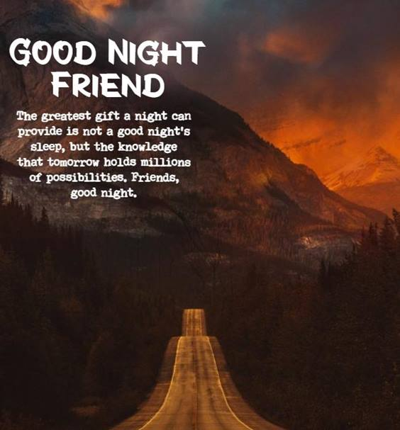 love good night quotes for friends