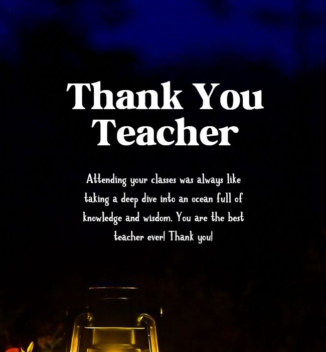 thank you teacher message from parents for encouraging child