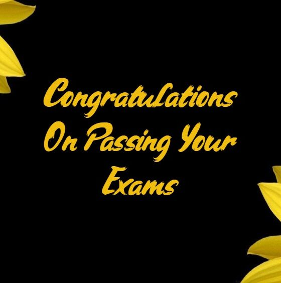 Congratulations for Passing Exam and Good Results Notes Quotes About Appreciation