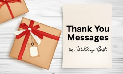 Best Thank You Notes for Wedding Gifts How to Write a Wedding Thank You Card